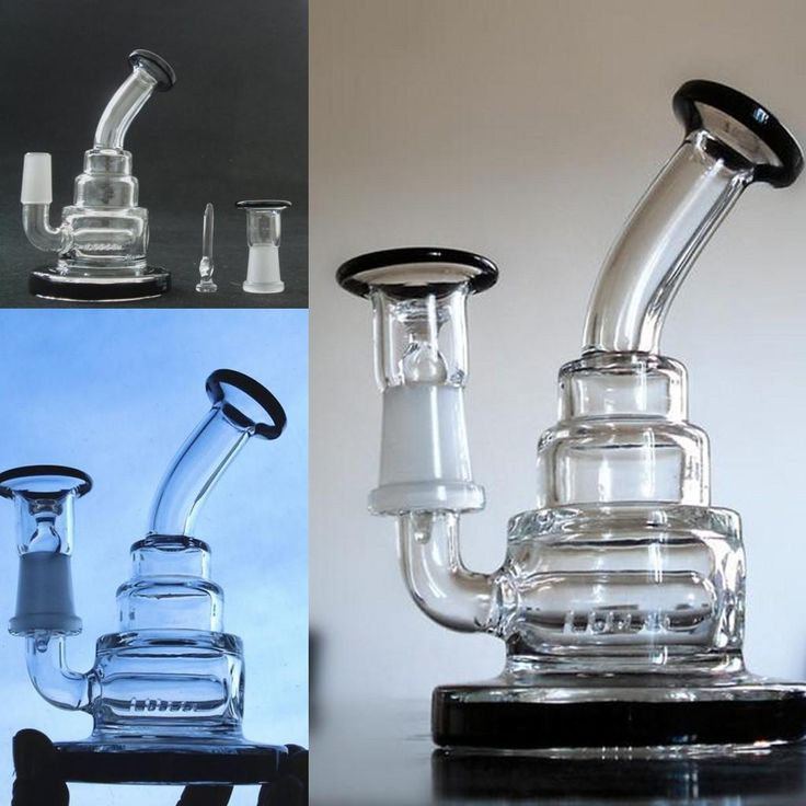 2016 Cheap Thick Glass Hitman Bongs Water Pipes Heavy Bongs Glass Joint 14mm…