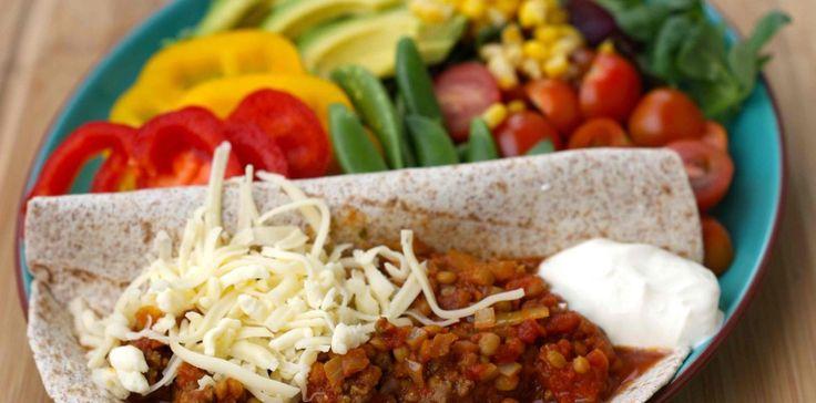 A little healthier taco