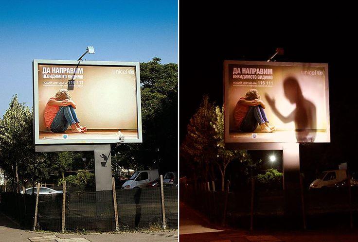 ブルガリアの児童虐待キャンペーン。「見えないものを見えるようにしよう」