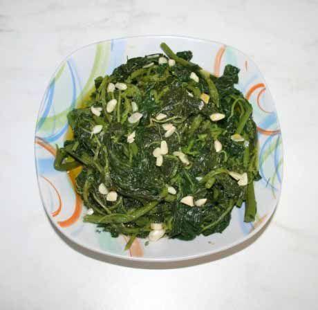 Amaranthus blitum salad #cooklikegreeks #salad #vegetarian #vegan