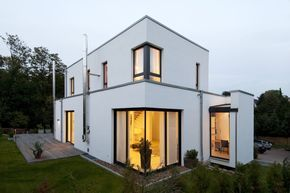 Modernes Einfamilienhaus in Essen : Moderne Häuser von Stockhausen Fotodesign