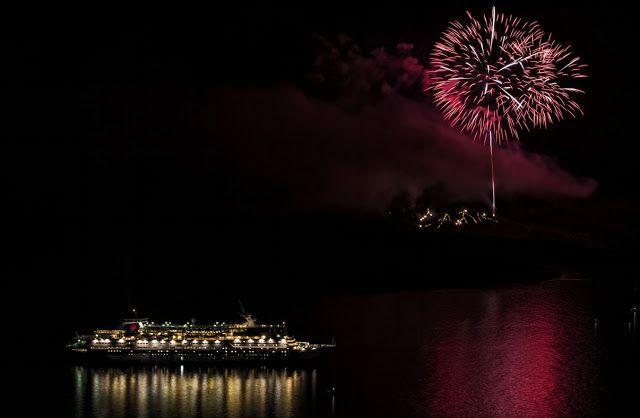 AWAKENING FOR ALL: SANTORINI VOLCANO: Ifaisteia Festival Fireworks 17...