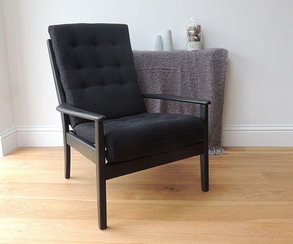 Unique, Retro Danish styled Cintique Lounge Chair.