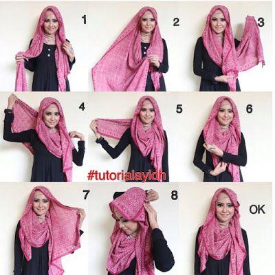 Tutorial Jilbab Simple dan Modis