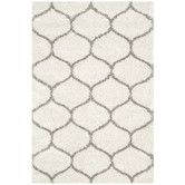 Found it at AllModern - Hudson Shag Ivory & Gray Area Rug