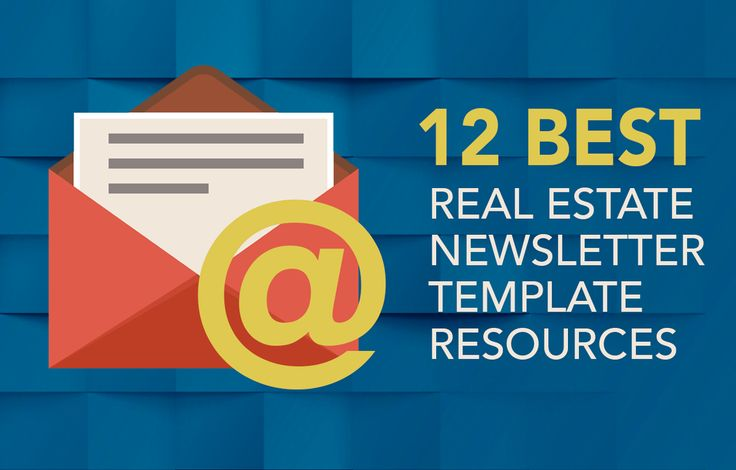 Newsletter templates Real estates and Templates – Real Estate Newsletter Template