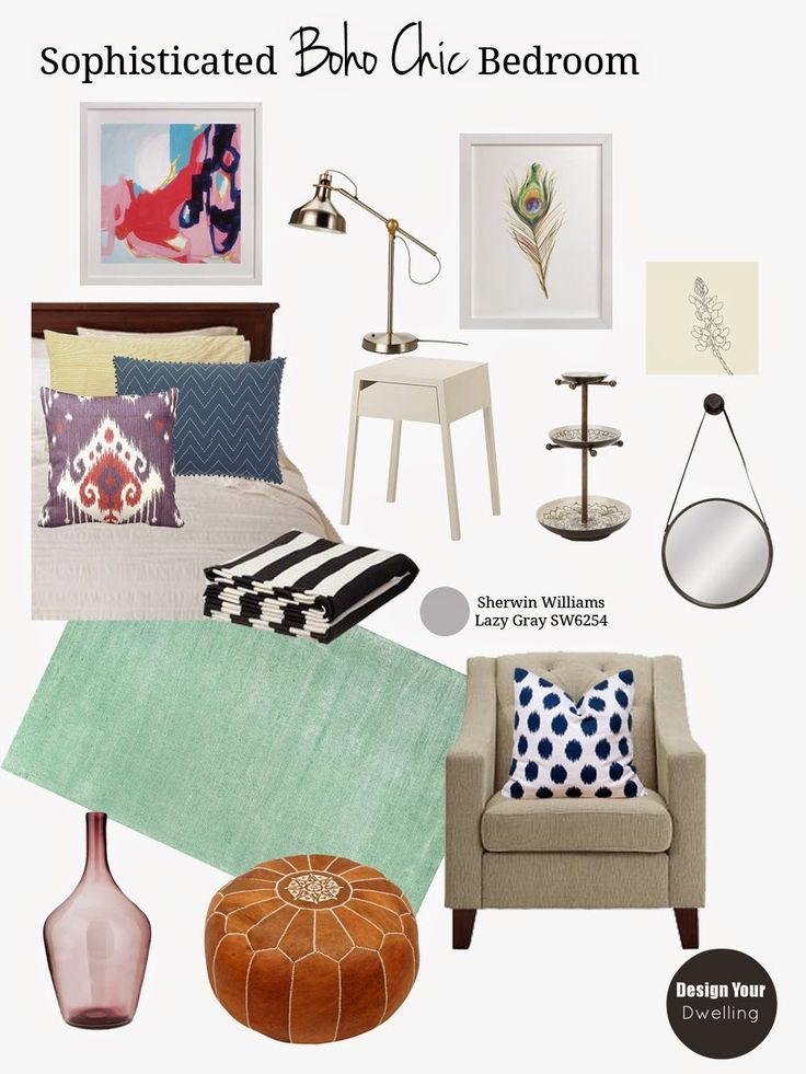Design Your Dwelling Boho Chic Inspired E design The
