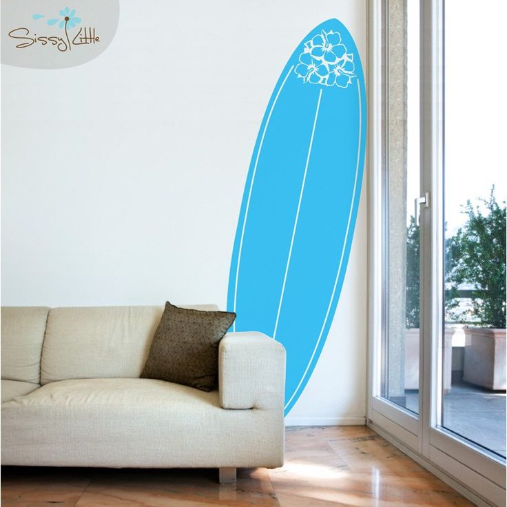 22 best painted surfboards images on pinterest surfs for Surfboard decor for bedrooms