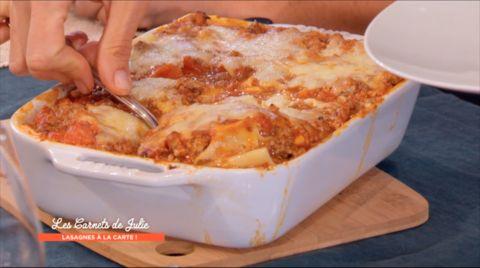 Cette semaine dans « Les carnets de Julie », présentation d'un plat emblématique de l'Italie... les lasagnes !