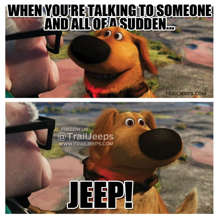 I know it's a jeep thing.....but somebody should should create a similar caption for that distinctive Subaru Sound........Subaru!!!!!!!!