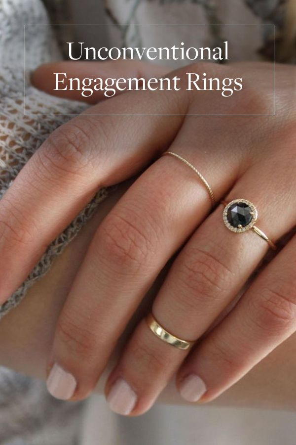 61 best Non Traditional Engagement Rings images on Pinterest Fancy
