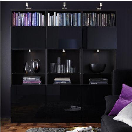 Home-Dzine - Ikea living room storage options