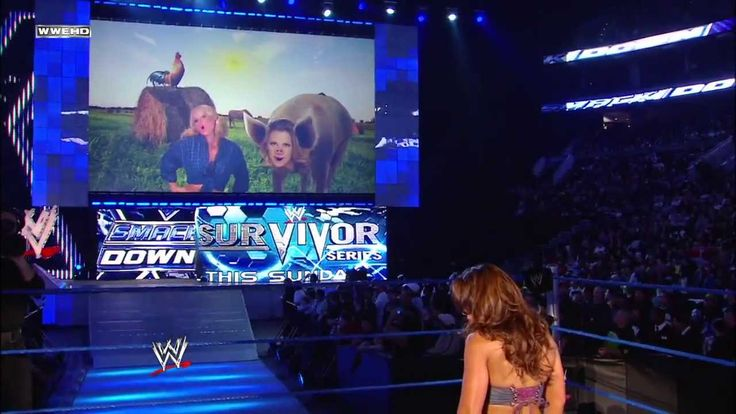 Michelle McCool & Layla embarrass Mickie James: SmackDown, Nov. 20, 2009