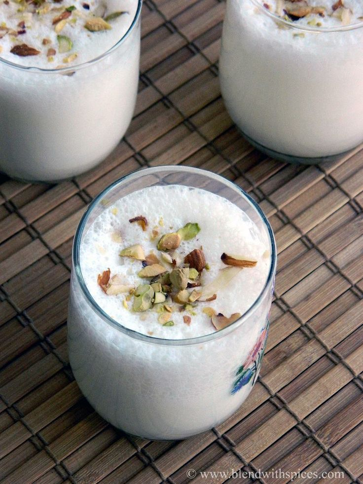Indian Cuisine: Cardamom Lassi  - gluten free.  A classic and refreshing Indian drink made with yogurt, sugar and cardamom.