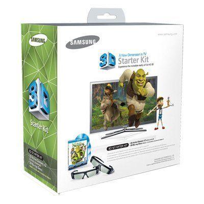 Samsung SSG-P2100S/ZA Shrek 3D Starter Kit - Black (Compatible with 2010 3D TVs): http://www.amazon.com/Samsung-SSG-P2100S-ZA-Shrek-Starter/dp/B0049P1N26/?tag=eyepet-20