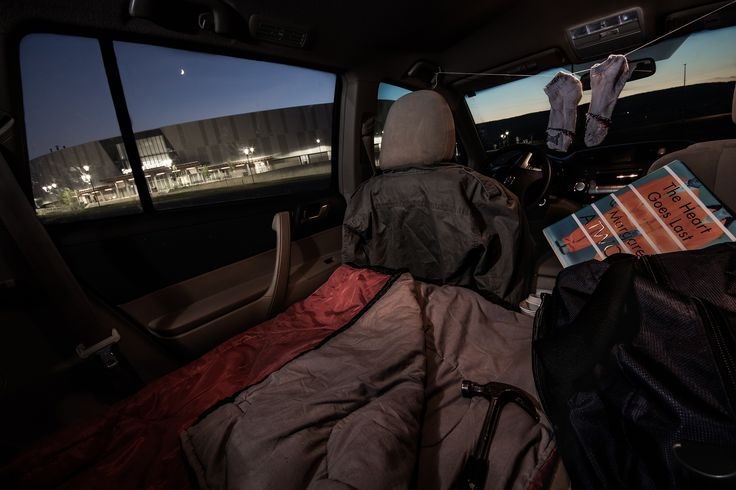"""First Place:  """"A Quiet Place to Sleep"""" Description: Living in my vehicle would require a quiet place to park for the night. Submitted by Daniel Cybulskie #MiltonON"""
