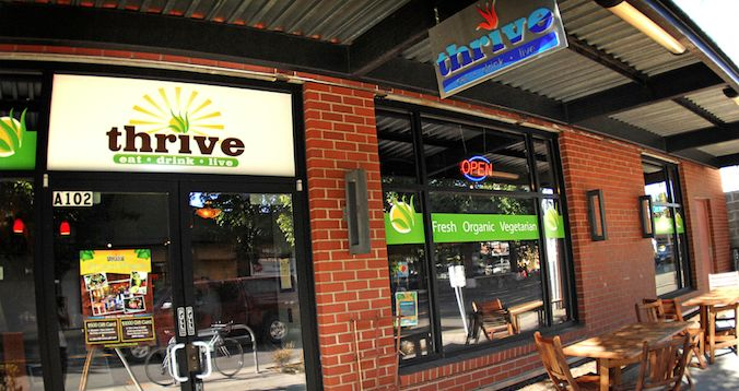 thrive  gluten-free, vegetarian, vegan  1026 NE 65th St, Seattle  206-525-0300