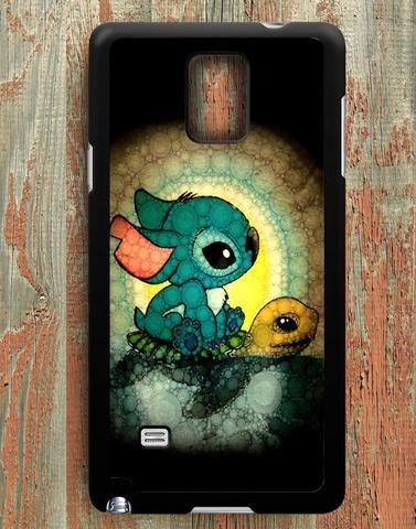 Stitch And Turtle Samsung Galaxy Note 4 Case