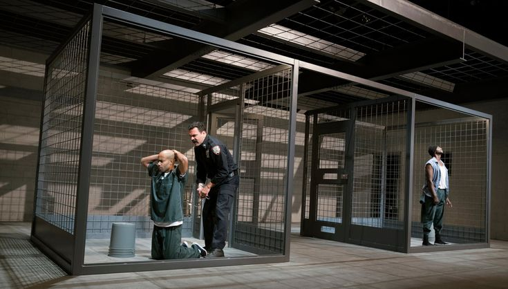 A riveting revival of Stephen Adly Guirgis's prison drama may be more timely today than at its premiere in 2000.