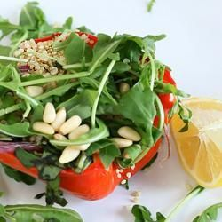 Quinoasalat mit geschmortem Gemüse