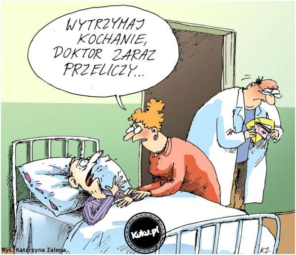 Najpierw zdrowie pacjenta, później interesy? Ale czy przysięga Hipokratesa przewidziała obowiązek ewidencji sprzedaży? Hmmm...