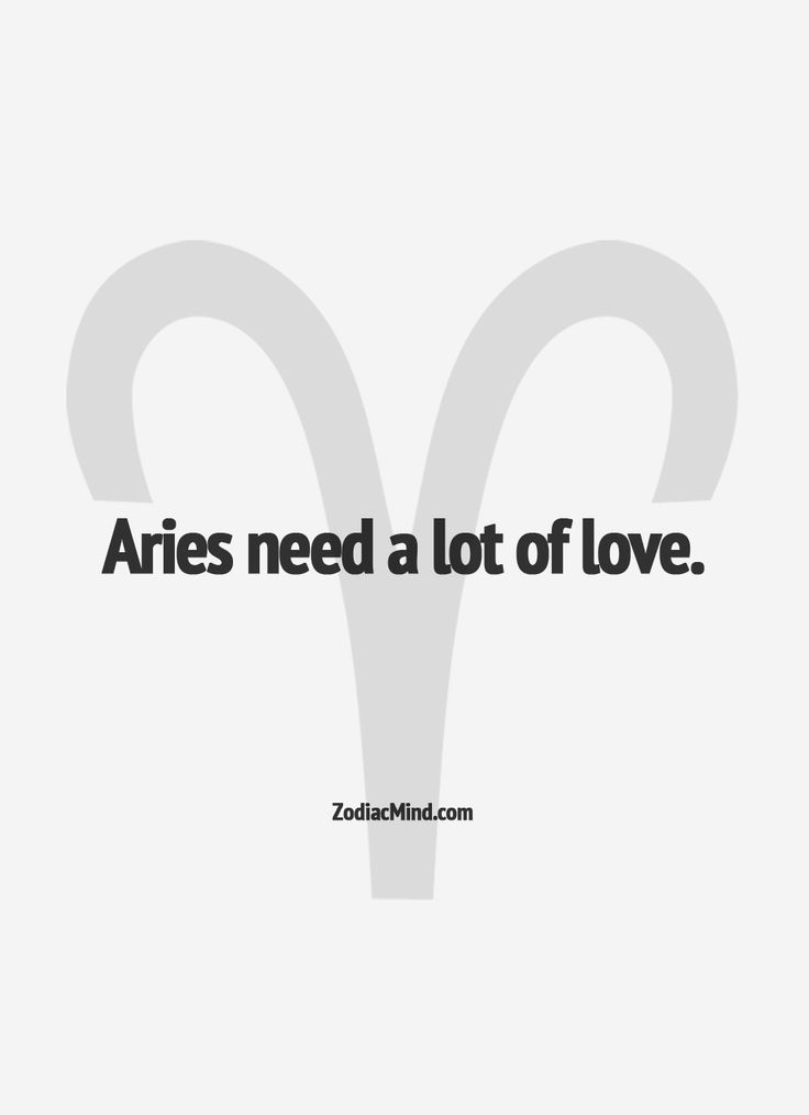Aries. i don't even believe in horoscopes but i like this