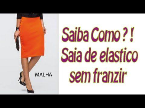 Curso Grátis - Modelagem Malhas - (prova da blusa e saia) Aula 8 - YouTube
