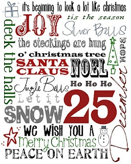 Christmas Printable fonts