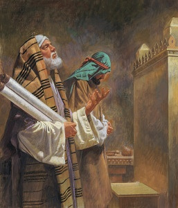 """The Pharisee and the Tax Collector (Luke 18:9-14) """"Somewhere along the way, I began to delight in my good works more than the work of Jesus.  My heart started to reflect that of a Pharisee more than Jesus."""""""