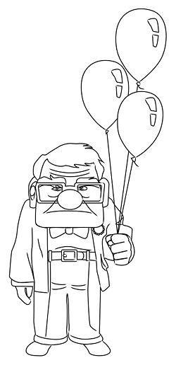 Draw Carl from Up