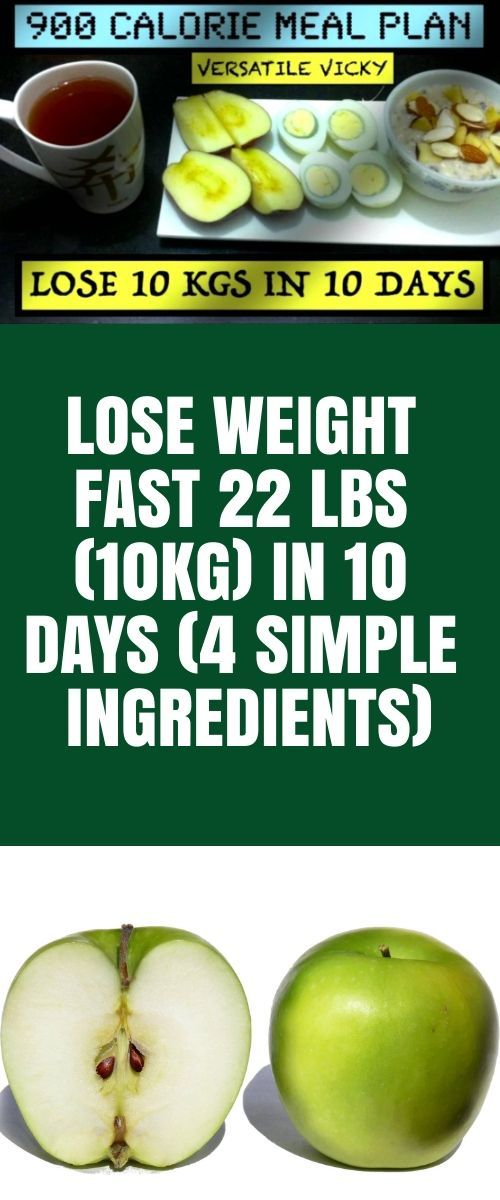 Lose Weight Fast 10Kg in 10 Days (4 Simple Ingredi…