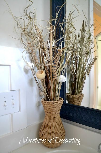 Vase and stick arrangement house decor pinterest for Decoration sticks