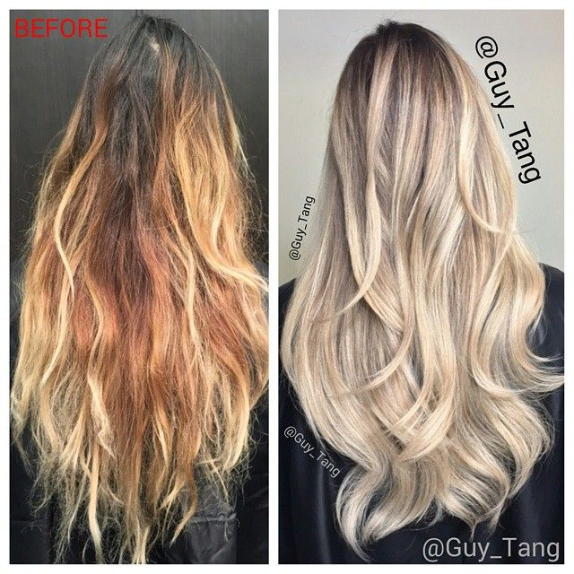 hair correction by Guy Tang