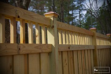 Dress Up A Plain Privacy Fence Fences Pinterest