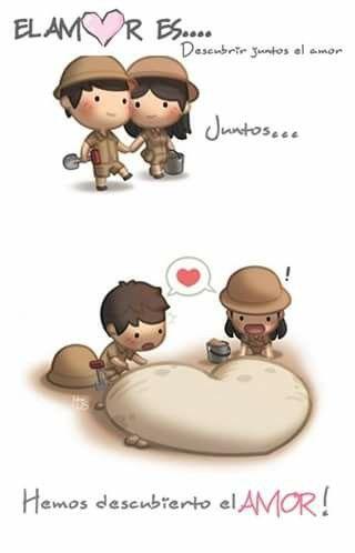Descubrir juntos el Amor