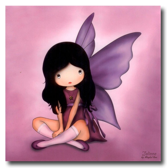 """I'll be your Guardian Angel"" Jolinne ~ Gorjuss"