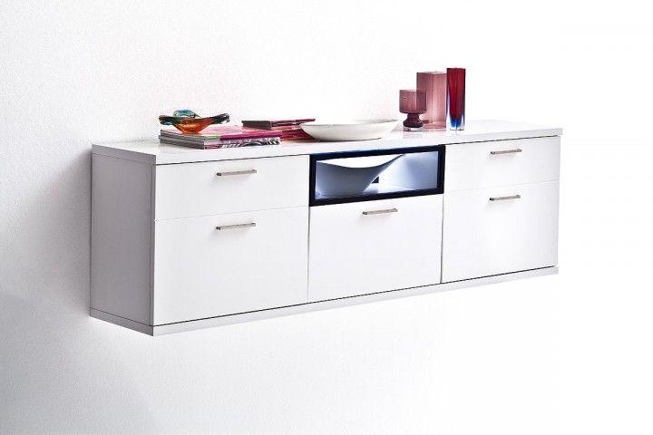 wei es h nge lowboard rubin wei m bel flur lowboard. Black Bedroom Furniture Sets. Home Design Ideas