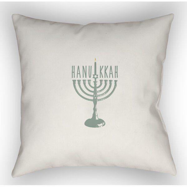 Hanukkah Indoor Outdoor Throw Pillow Throw Pillows Outdoor Throw Pillows Throw Pillows Online