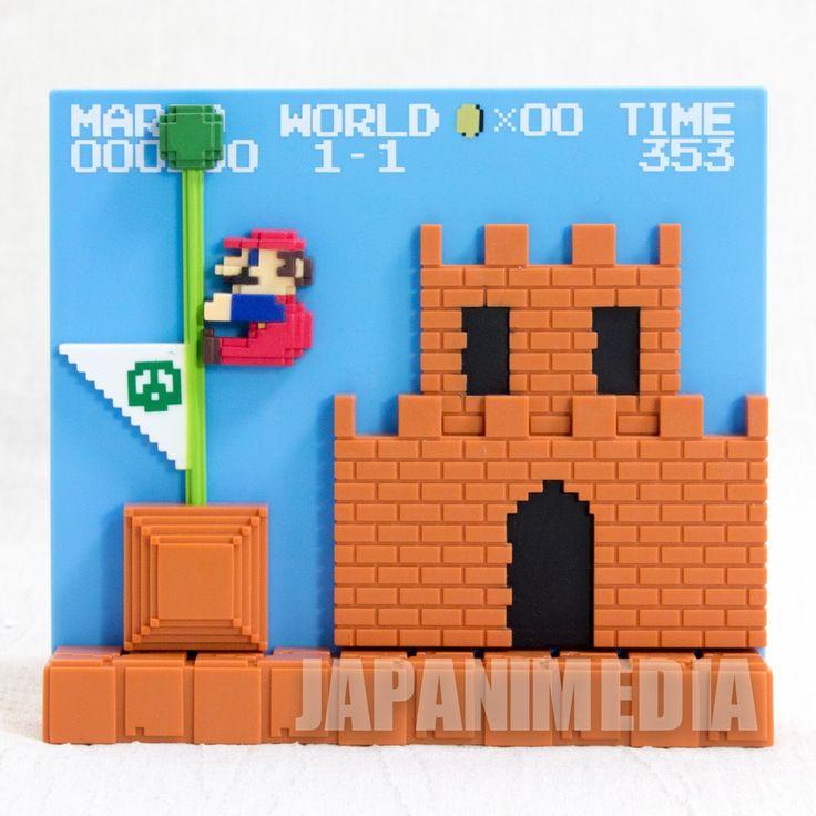 Super Mario Bros. Stage Figure 1-1 Castle Nintendo ...
