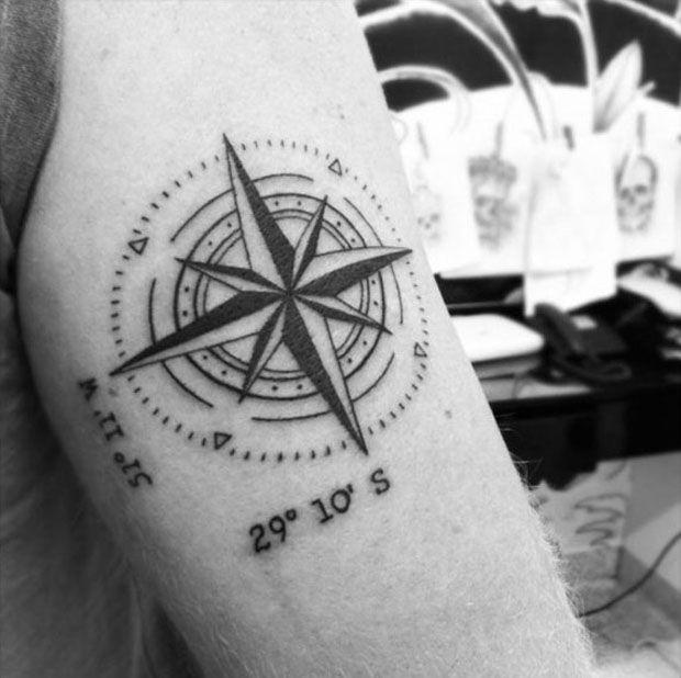 Para inspirar: tatuagens de bússola