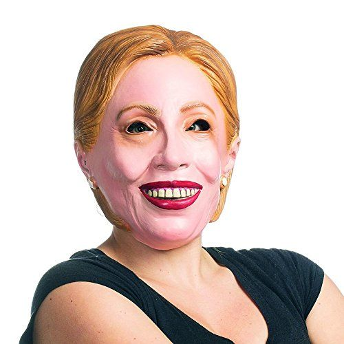 Hillary Clinton Mask - Democratic Presidential Candidate Mask https://www.safetygearhq.com/product/trending-products/election-day-suits-gadgets/hillary-clinton-mask-democratic-presidential-candidate-mask/
