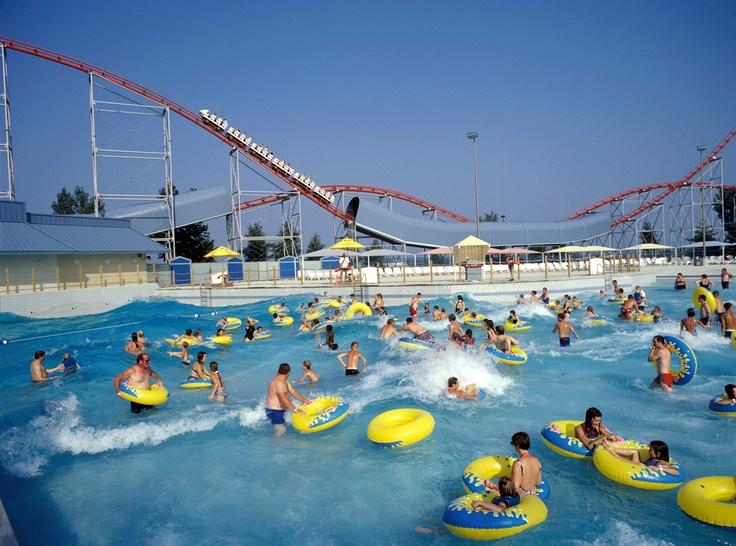 Wave pool at soak city cedar point sandusky ohio - Cedar beach swimming pool allentown pa ...