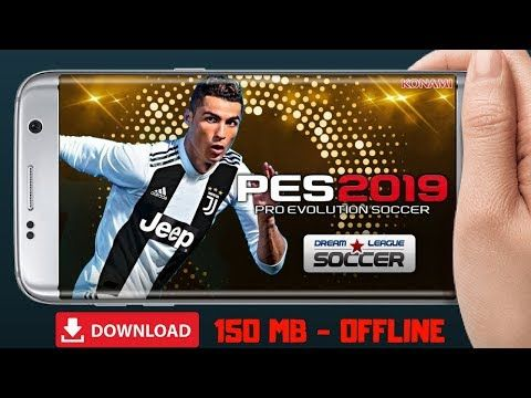 PES 2019 Mod DLS Offline Android Download - YouTube