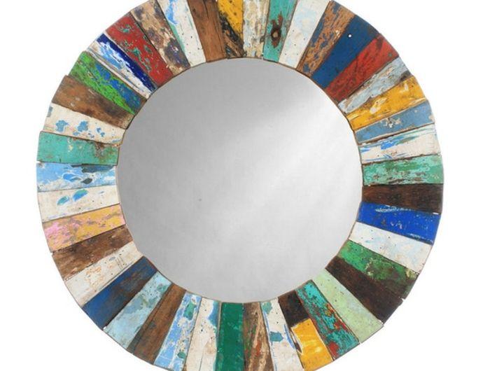 Mosaik Spiegel Merkmal Von Klasse Und Luxus Fabric Arts