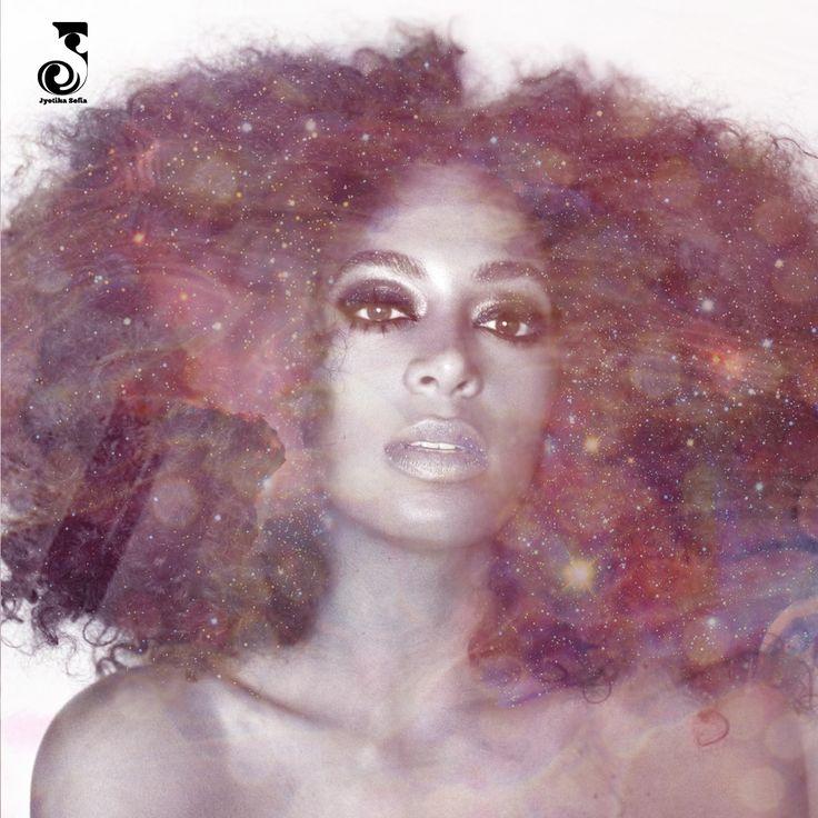 Solange Knowles Spotify playlist cover by Jyotika Sofia