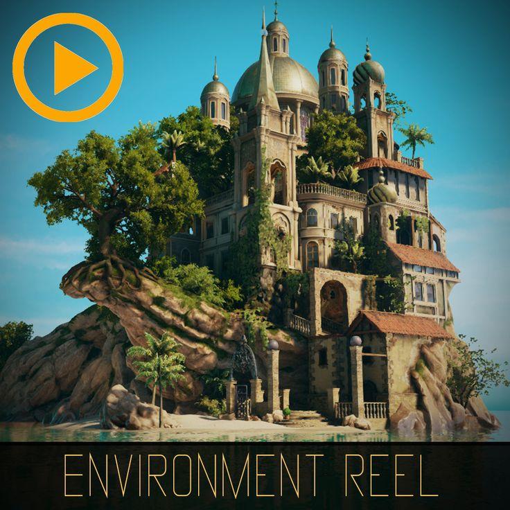 Paradise Island - Game Environment Reel 2016, Stef Velzeboer on ArtStation at https://www.artstation.com/artwork/Gqa3d