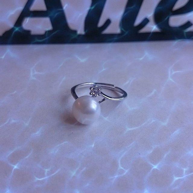 Моя прелесть) @pearlsbydaimi  #Daimi, #ring, #pearls, #silver, #jewelry, #AliExpress, #newreview, #itao, #новыйпост, #Алиэкспресс, #серебро, #кольцо, #жемчуг, #украшения