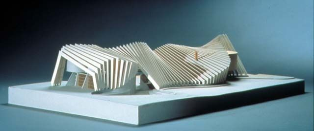 Model, Hight House, 1992-96, by Bart Prince.