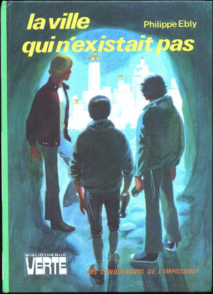 Philippe Ébly Hachette Bibliothèque Verte 1975