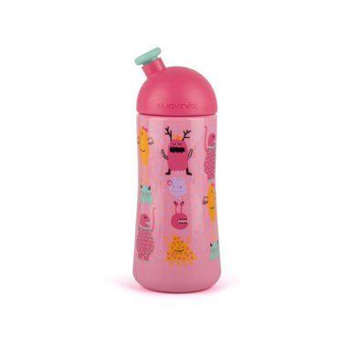Športová fľaša Suavinex BOOO 360ml - Ružová